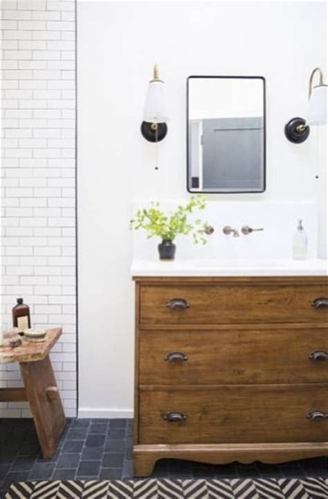 Bathroom Cabinets You Put Together Yourself How To Turn A Dresser Into A Bathroom Vanity Vanities