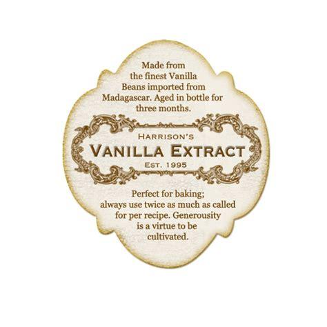 vanilla extract label template vintage vanilla extract labels wallpaper