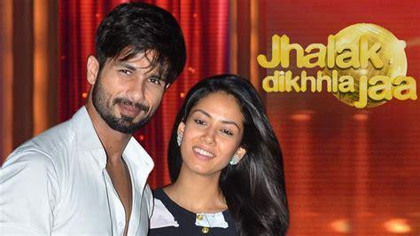 sahid kapur whif photo danvnlod shahid kapoor introduces wife mira rajput on jhalak dikhla