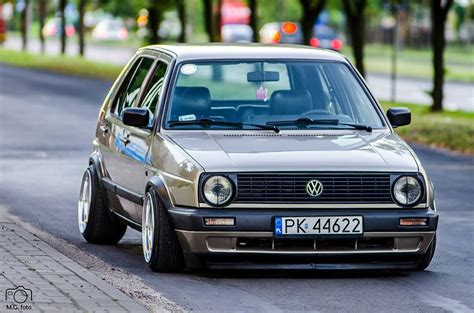 volkswagen golf modified modified cars volkswagen golf 2 slammed