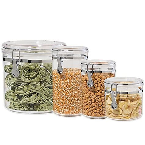 Bed Bath And Beyond Canisters by Oggi Acrylic Canister Bed Bath Beyond
