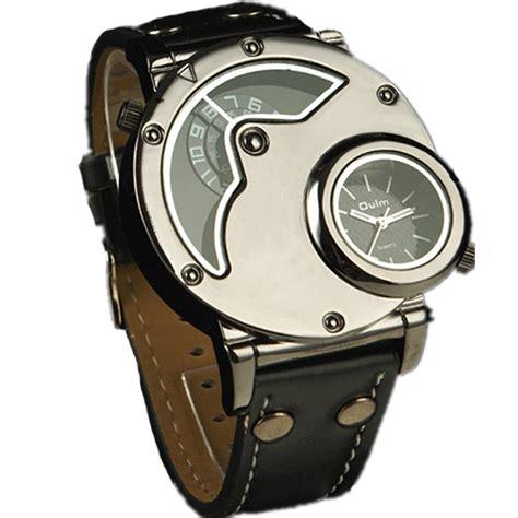Pilot Dualtime Original original new russian aviator pilot army wrist mens quartz dual time black leather