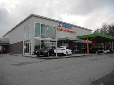 mall of ga mazda rick hendrick mazda at the mall of