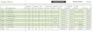 Wages Timesheet Template by Daily Wages Sheet Template Free Spreadsheet Templates