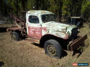 Truck Wagon Wheels For Sale 1940 Dodge Power Wagon For Sale In Canada
