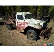 1940s Dodge Power Wagon For Sale  Autos Post