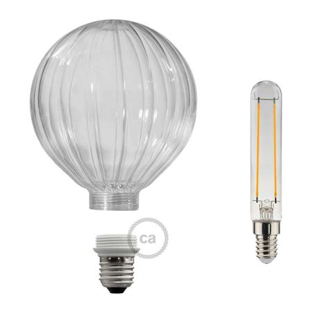 E27 Led Light Bulb Modular Led Decorative Light Bulb With Transparent Balloon 5w E27 Dimmable 2700k
