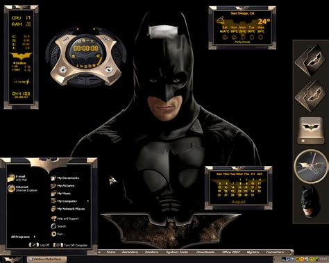 computer themes batman ultimate batman desktop by a666a on deviantart
