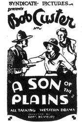 Bob Custer Westerns by Boyd Magers