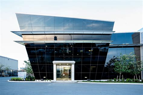 slanted curtain wall products phoenix glass