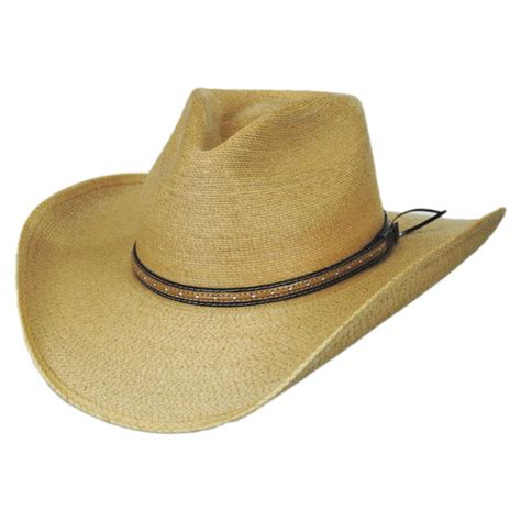 Hats To You by Stetson Sawmill Palm Leaf Straw Western Hat Western Hats