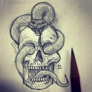Flower Sugar Skull - 19 skull drawings art ideas design trends