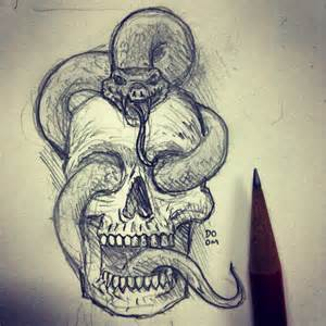 Color Combinations Design 19 skull drawings art ideas design trends