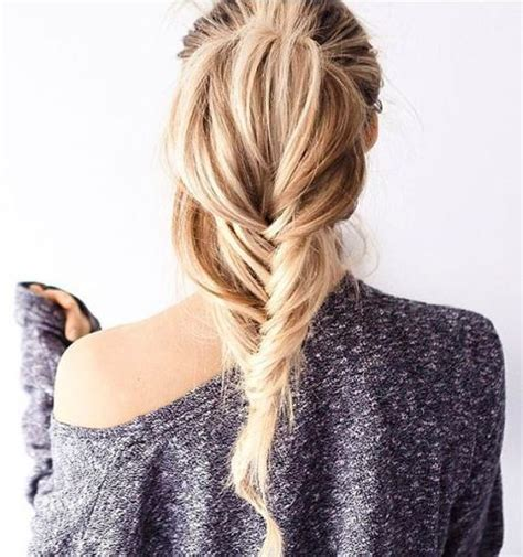 hairstyles to do with plaited extensions 17 best ideas about fishtail plaits on pinterest