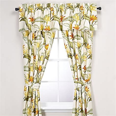 bird of paradise curtains tommy bahama 174 birds of paradise window curtain panel and