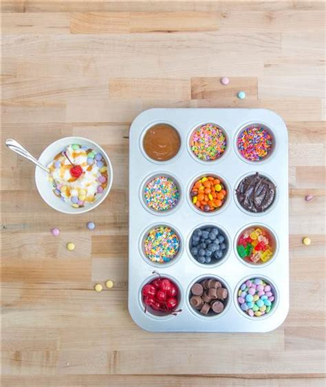 toppings for ice cream bar a roundup of 20 ice cream sundae bar ideas for summer parties