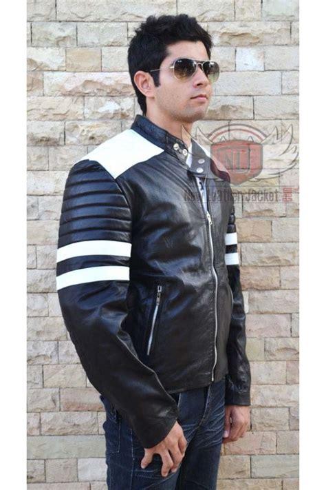 brad pitt fight club jacket black brad pitt fight club leather jacket