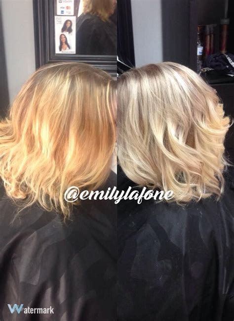 before orange brassy hair after beautiful ash blonde my hair before and after color correction brassy orange into ash
