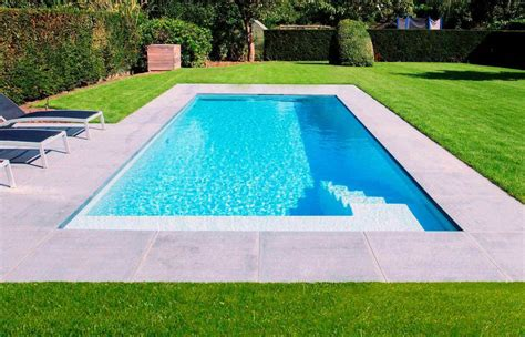 small inground pools long rectangular small fiberglass inground pools small