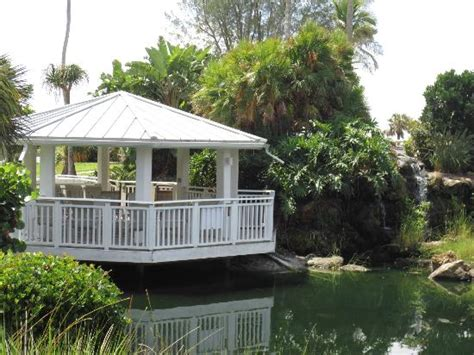 sanibel cottages resort waterfall picture of sanibel cottages resort sanibel