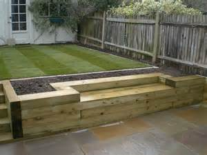 sleeper garden edging ideas landscaping gardening ideas