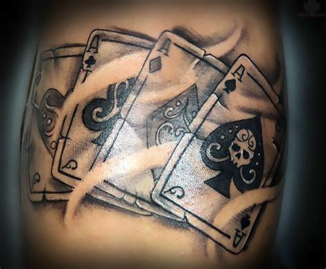 4 aces tattoo four aces idea