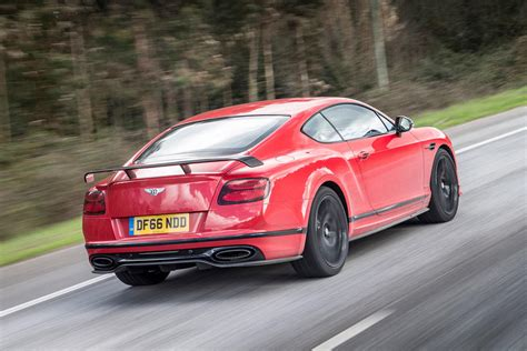 bentley sports car rear 2017 bentley continental gt supersports review autocar