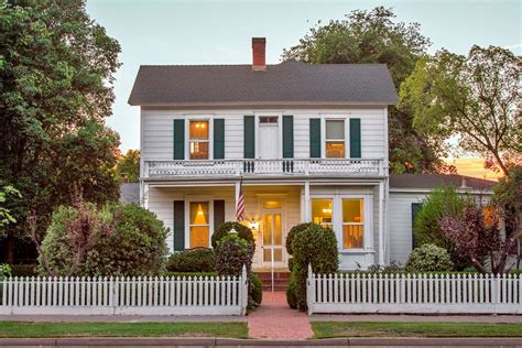 6 quaint houses for sale with white picket fences
