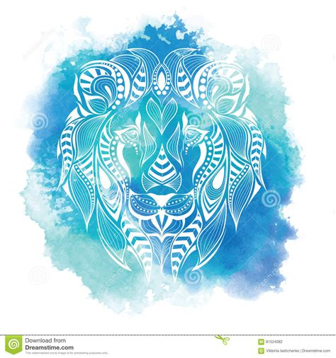 patterned colored of the indian patterned colored of the indian totem