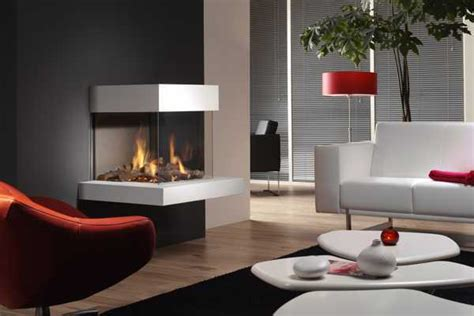 corner fireplaces offering unique decorative accents for space saving interior design