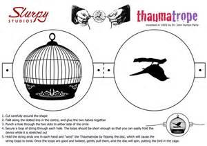 thaumatrope template printable slurpy studios animation and web design reviews news