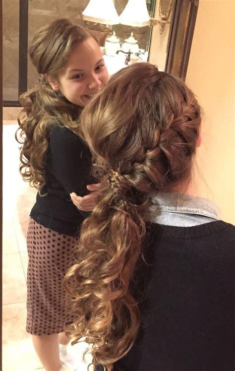 pentecostal women hair styles side braid with curls side braids and curls on pinterest