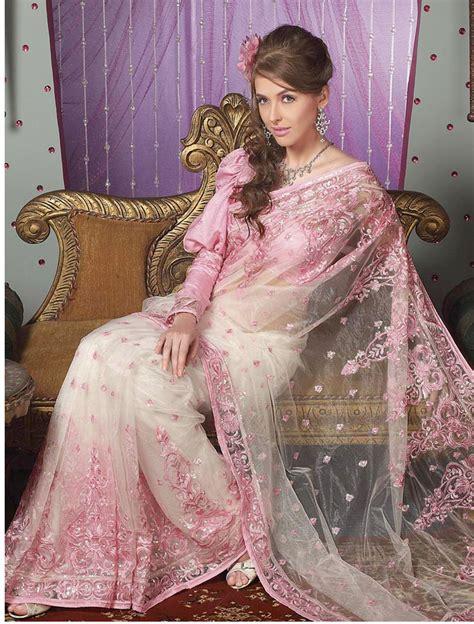 Pink Saree saree exclusive lehenga saree indian saree pink