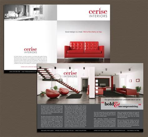 brochure interior design solutions brochure and layout