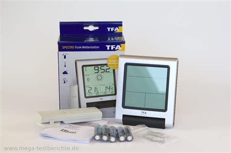 test tfa tfa dostmann funkwetterstation spectro 35 1089 im test