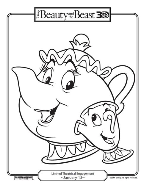 printable coloring pages beauty and the beast disney s beauty and the beast printables coloring pages