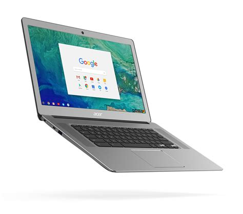 chromebook android acer reveals new metal chromebook 15 with support for android apps
