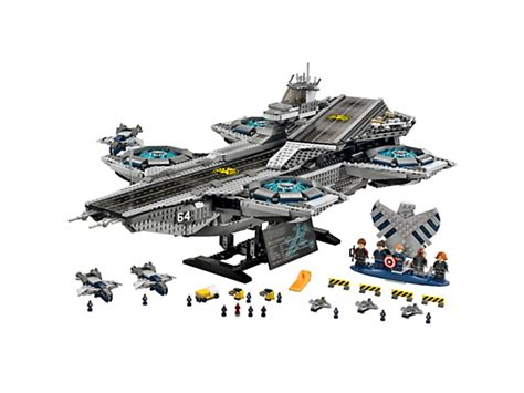 Lego Exclusive Heroes Shield Helicarrier 76044 the shield helicarrier lego shop