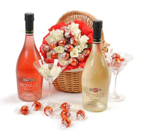 martini and chagne martini gift basket gift ftempo