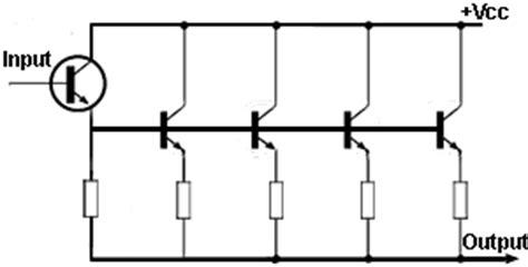 bjt transistors in parallel power transistors and heat sinks