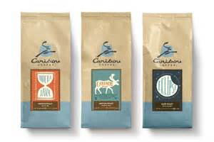 new caribou coffee packaging how design
