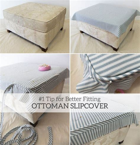 your own ottoman slipcover grab this simple fit