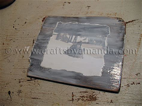 Decoupage Photos Onto Wood - decoupage family photo plaques crafts by amanda