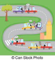 Auto Unfälle by Schl 228 Gt Auto Zeichen Gesicht Fu 223 G 228 Nger Menschliche