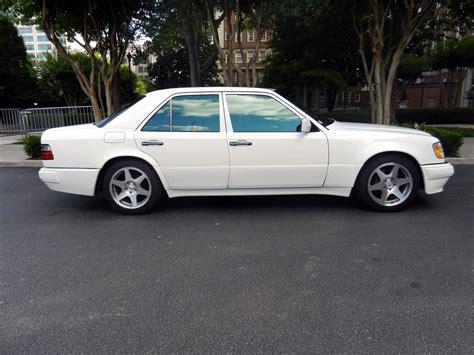 mercedes white 1994 mercedes benz e500 w124 white on evo wheels benztuning