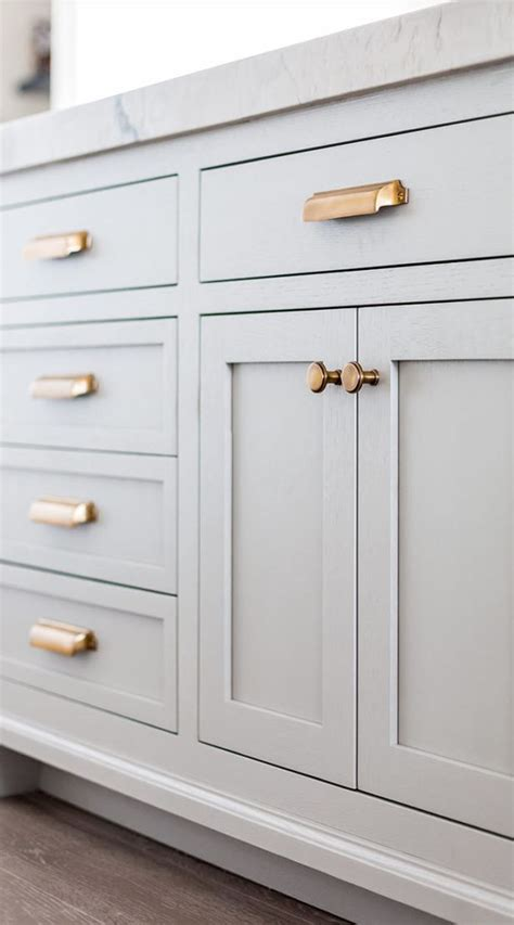 grey cabinets gold hardware best 25 brass cabinet pulls ideas on brass