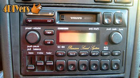 volvo change frequency diy volvo stereo removal