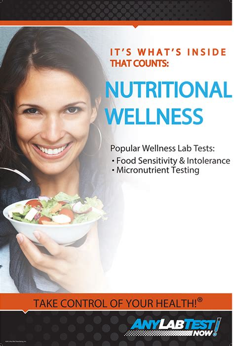 Any Lab Test Now 174 Helps Consumers Achieve Nutritional