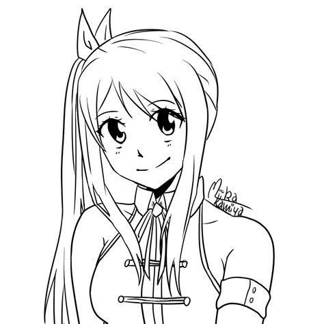 how to use iforce doodle heartfilia lineart by themiikakamiya on
