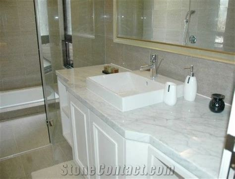 White Marble Bathroom Countertops from China 249882